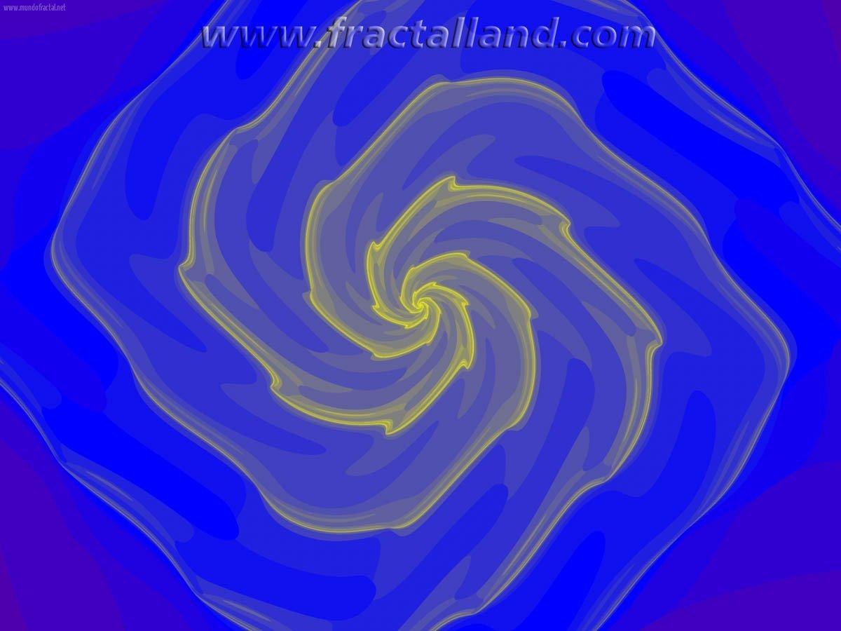 Blurred spiral