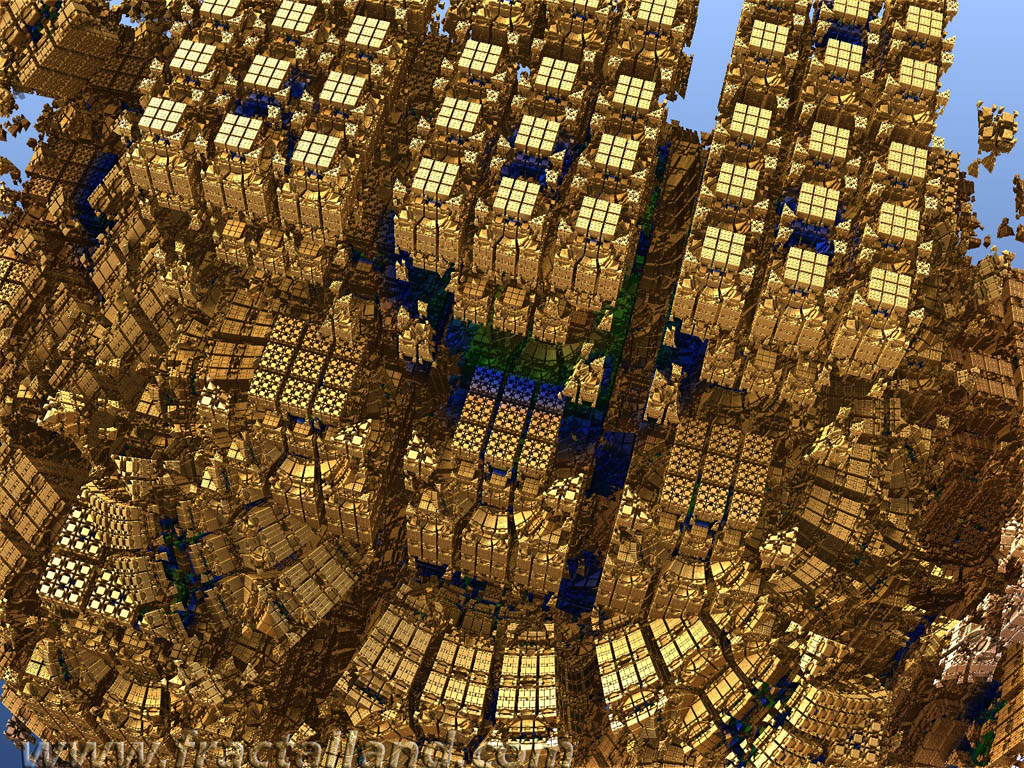 Gold city Mandelbulb